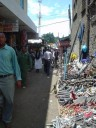 Nakuru, alley shops
