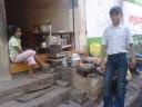alley shop, Varanasi