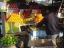 fruit stand, Varanasi