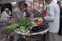 veggie stand, Varanasi