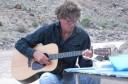 Jim playing guitar