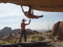 Kai Staats - Bouldering at Hueco Tanks