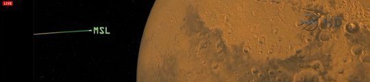 Mars rover Curiosity - banner