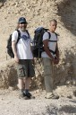 Kai Staats - Dead Sea, Daniel and Haim at the trailhead