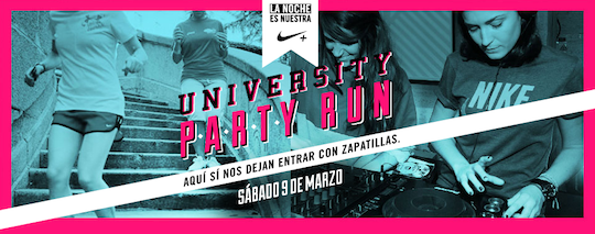 Nike University Run, Barcelona