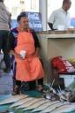 Kai Staats: Woman Selling Fish, Kalk Bay, South Africa