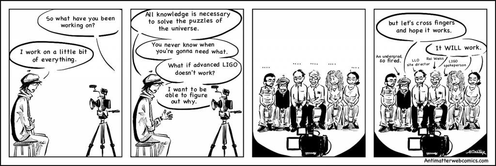 Antimatter Comics: LIGO Interview