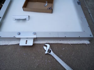 Solar Subaru: panel brackets by Kai Staats