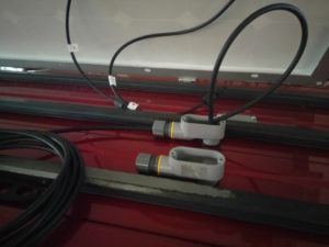 Solar Subaru: water tight cabling by Kai Staats